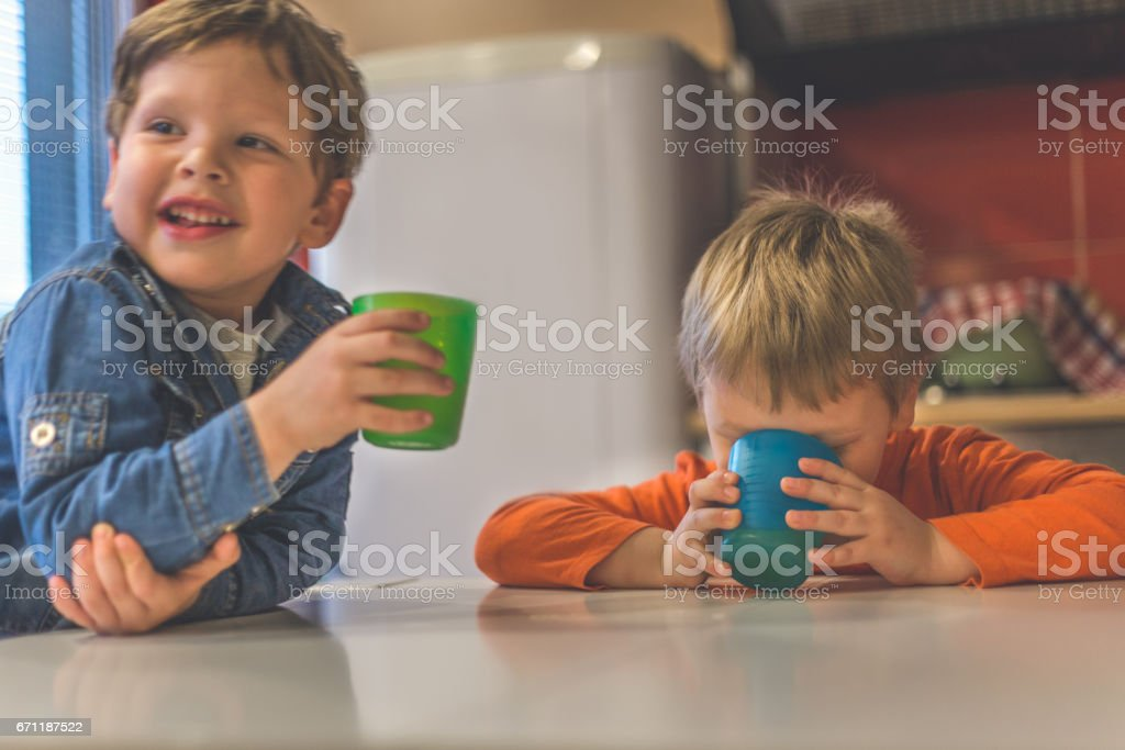 We are drinkers too stock photo