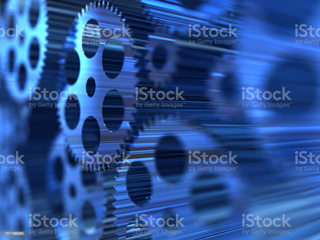 We are geared up to get your gears turning into the future  royalty-free stock photo