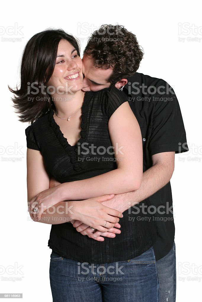 We are happy together royalty-free stock photo