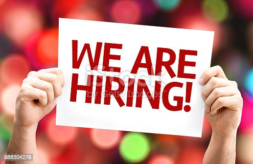 istock We are Hiring sign 688304276
