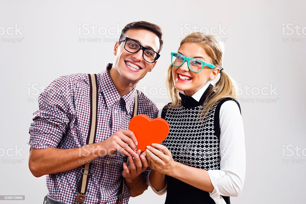 We are in love! stock photo
