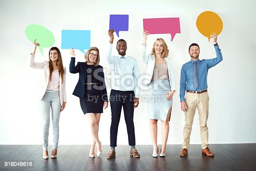 855443864 istock photo We are loud and proud! 916048616