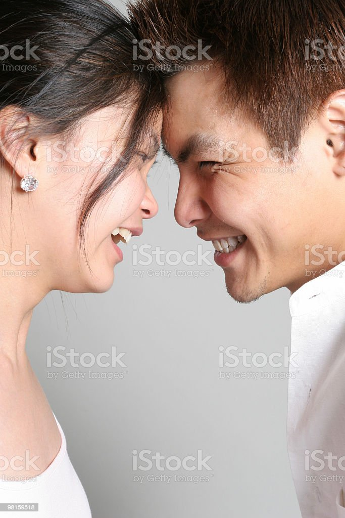We are so happy together royalty-free stock photo