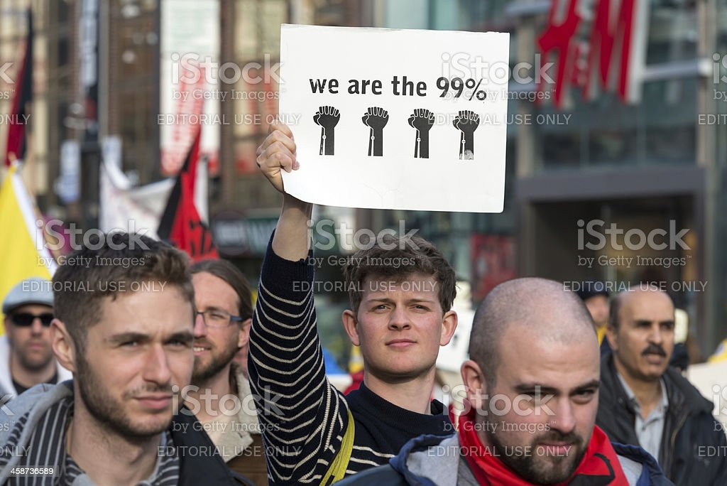 We are the 99% royalty-free stock photo