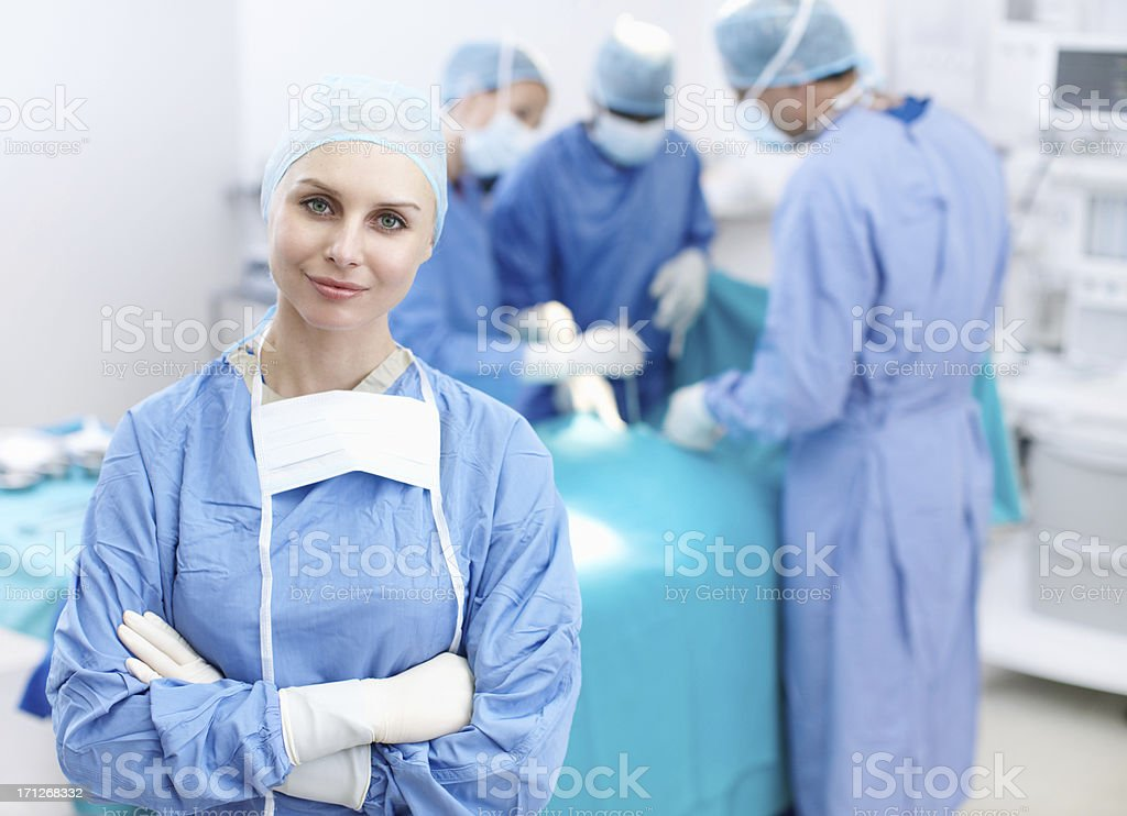 We are the best! stock photo