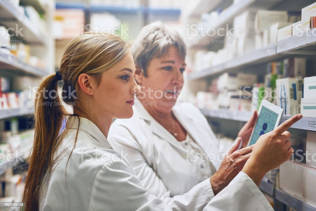We are the front-line of healthcare stock photo