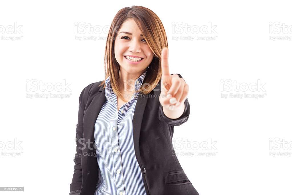 We are the number one company stock photo