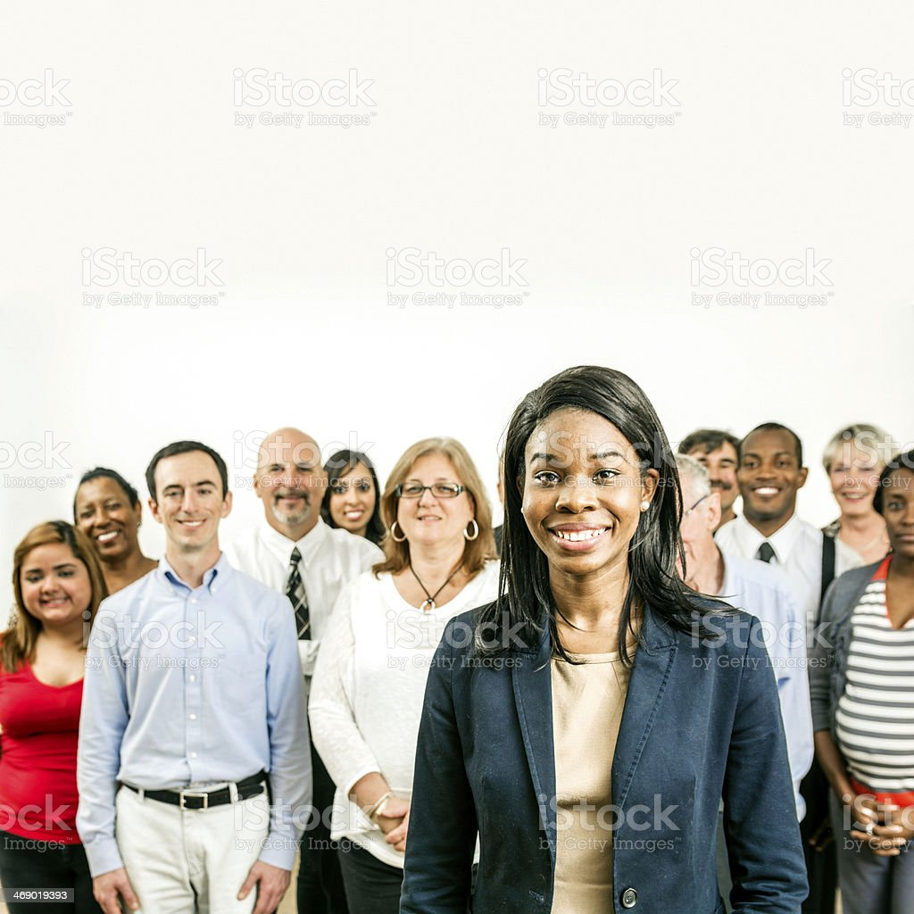 We are the people. royalty-free stock photo