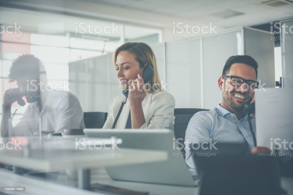 We are the team that is here for you. stock photo