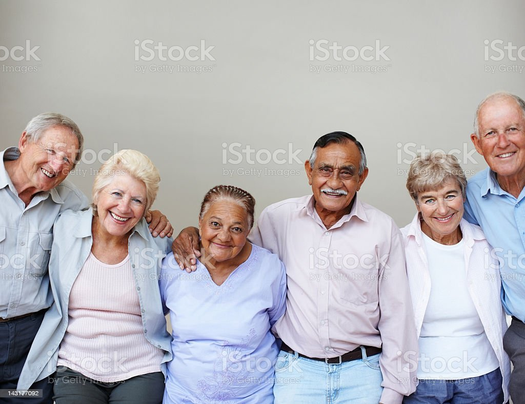 We are together royalty-free stock photo