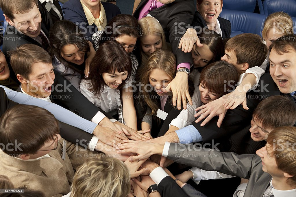 We are Together! royalty-free stock photo