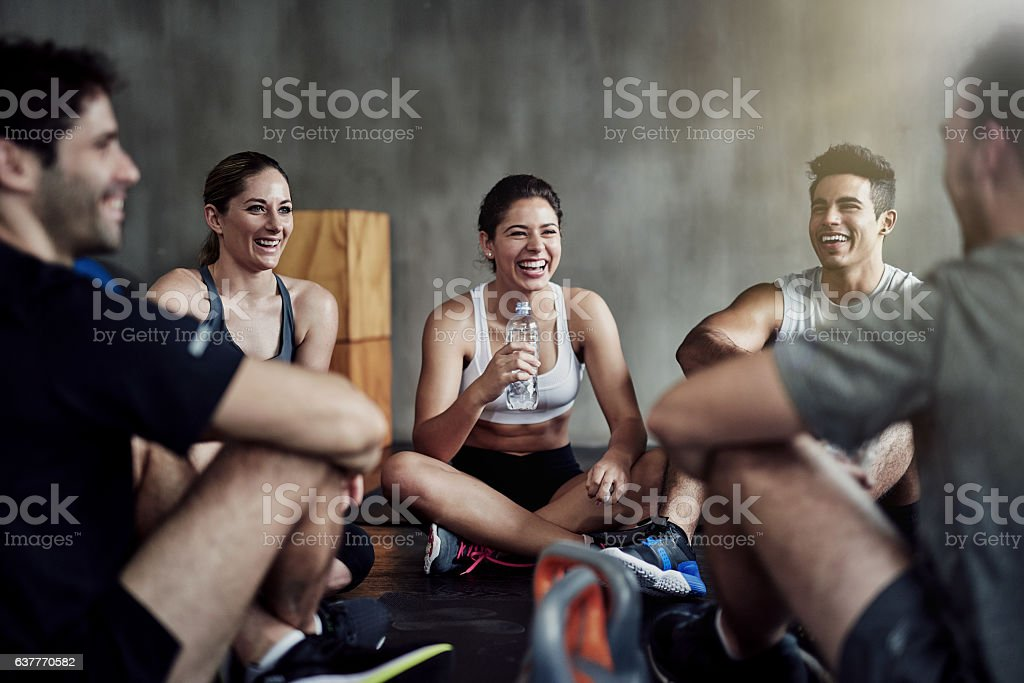 We are who we surround ourselves with stock photo