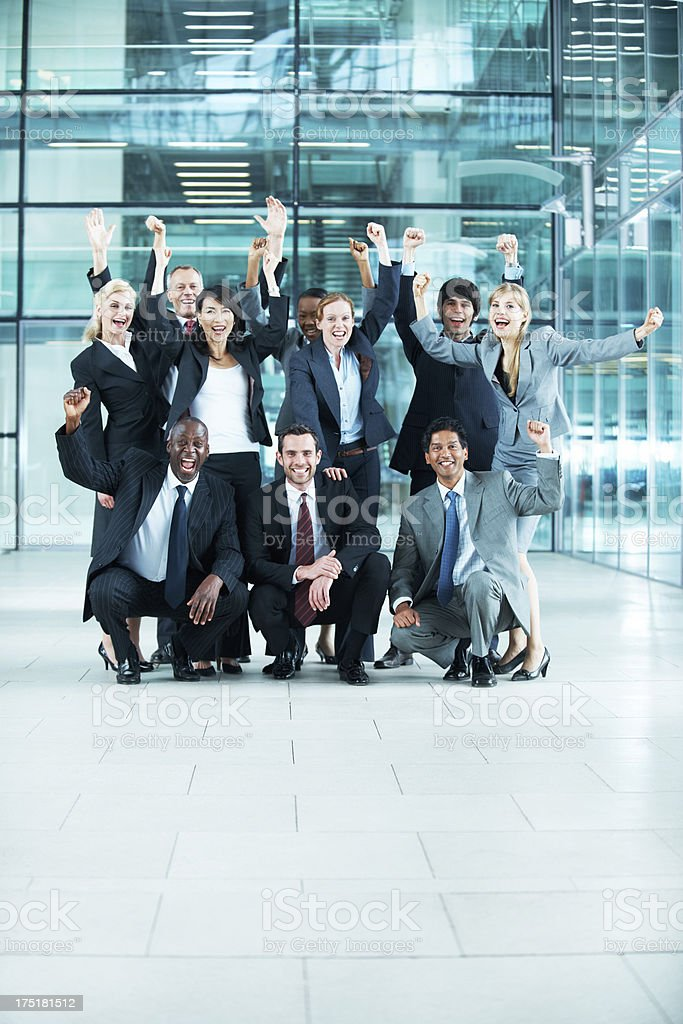 We can achieve anything! stock photo