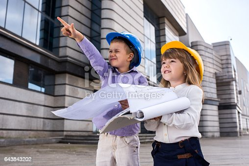 istock We can build something up there! 643843202