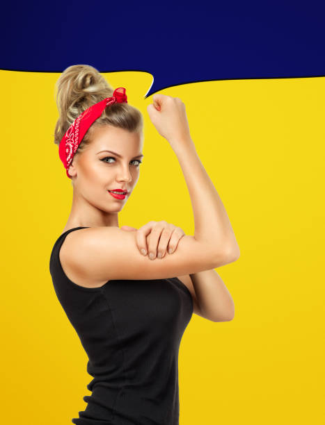 we can do it - pin up girl stock pictures, royalty-free photos & images