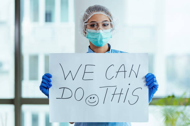 We can do this! stock photo