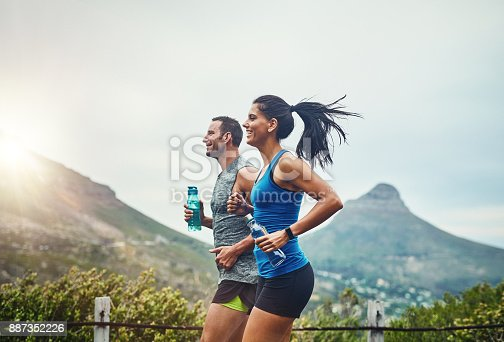 istock We compete in a friendly way 887352226