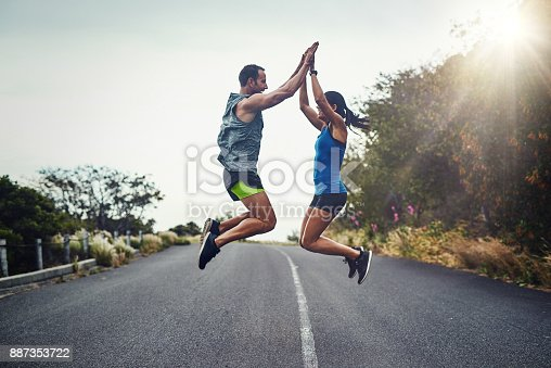 istock We did it and we did it together 887353722
