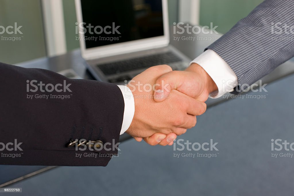we did it royalty-free stock photo