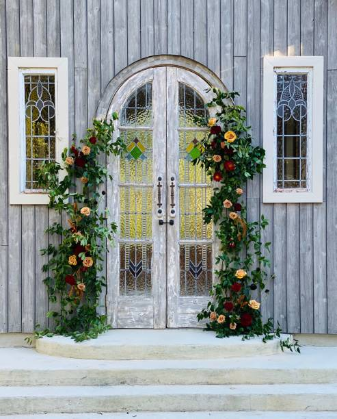 We Do Firefly Farm Wedding Chapel southern charm stock pictures, royalty-free photos & images