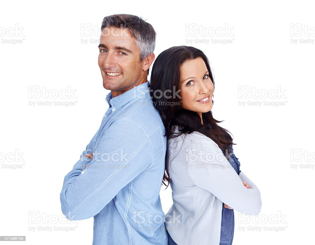 We do things better together stock photo