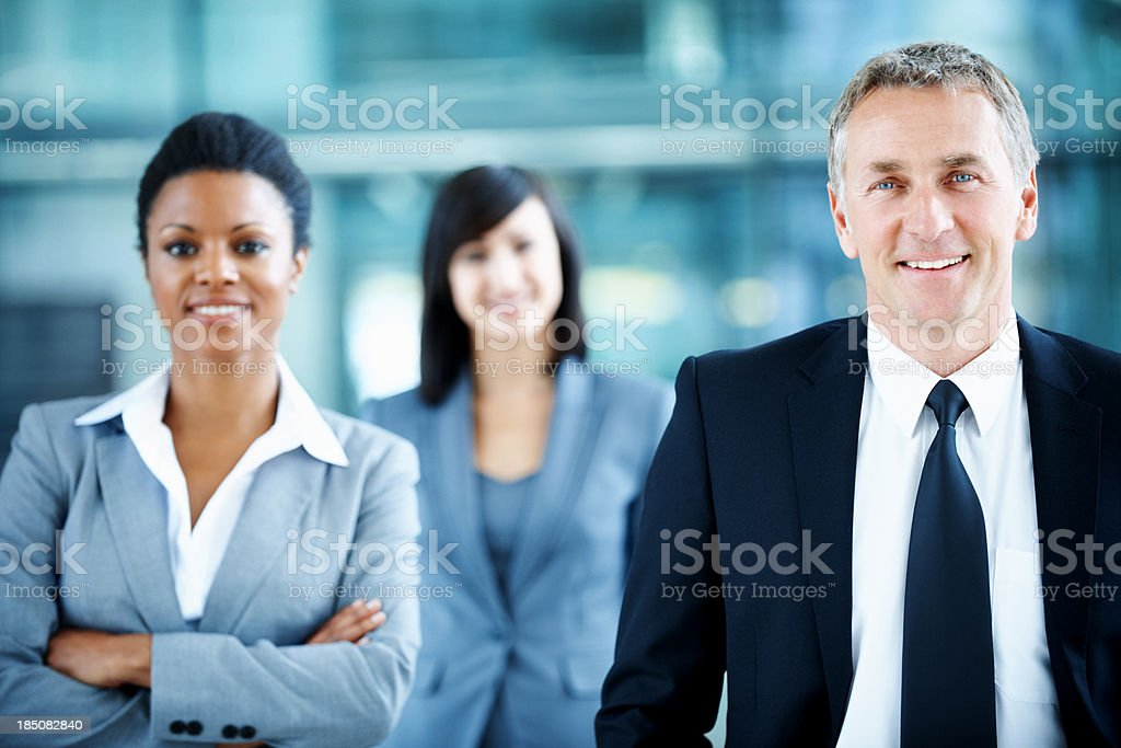 We dont stop until our business is complete stock photo