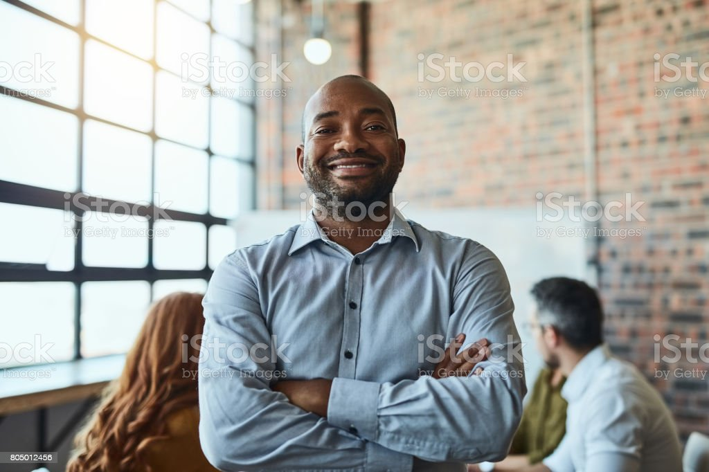 We dream big and achieve greater stock photo