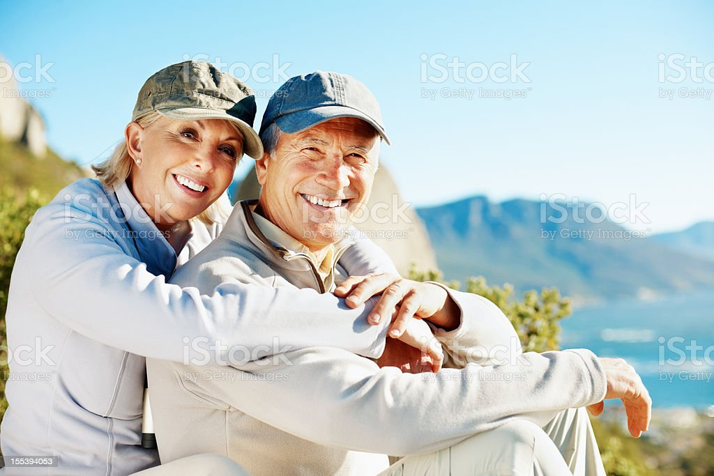 We enjoy an active lifestyle royalty-free stock photo