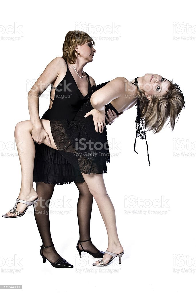 We feel like dancing royalty-free stock photo