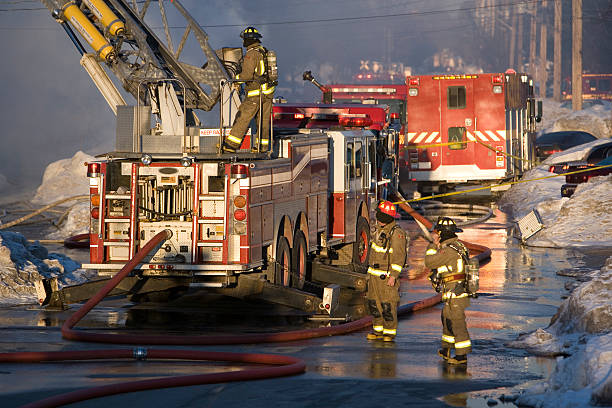 we fight the flames - emergency response stock pictures, royalty-free photos & images