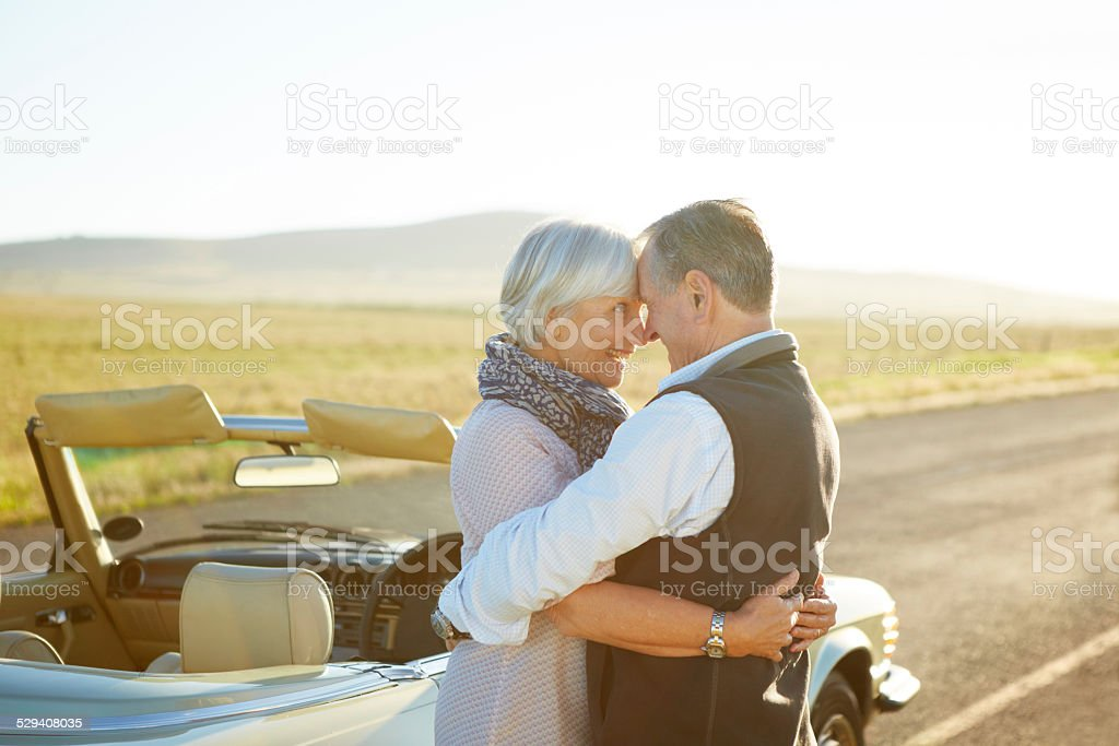 We finally did it! stock photo