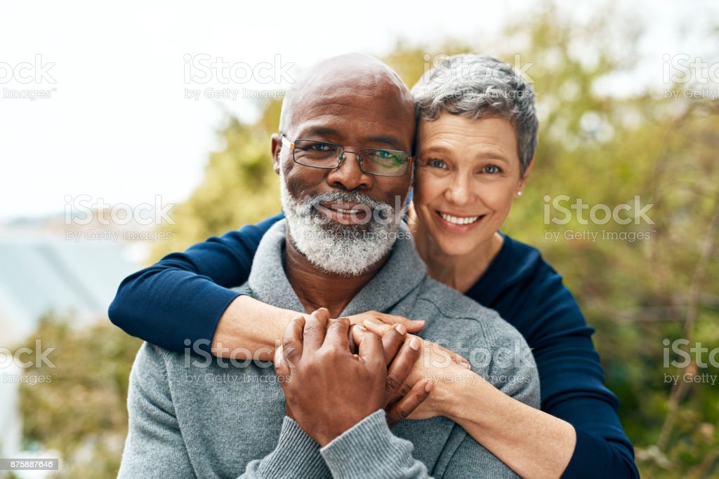 We fought hard for our love stock photo