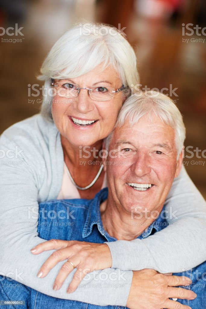 We found love that lasted a lifetime stock photo