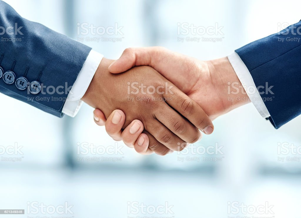 We have a deal! stock photo