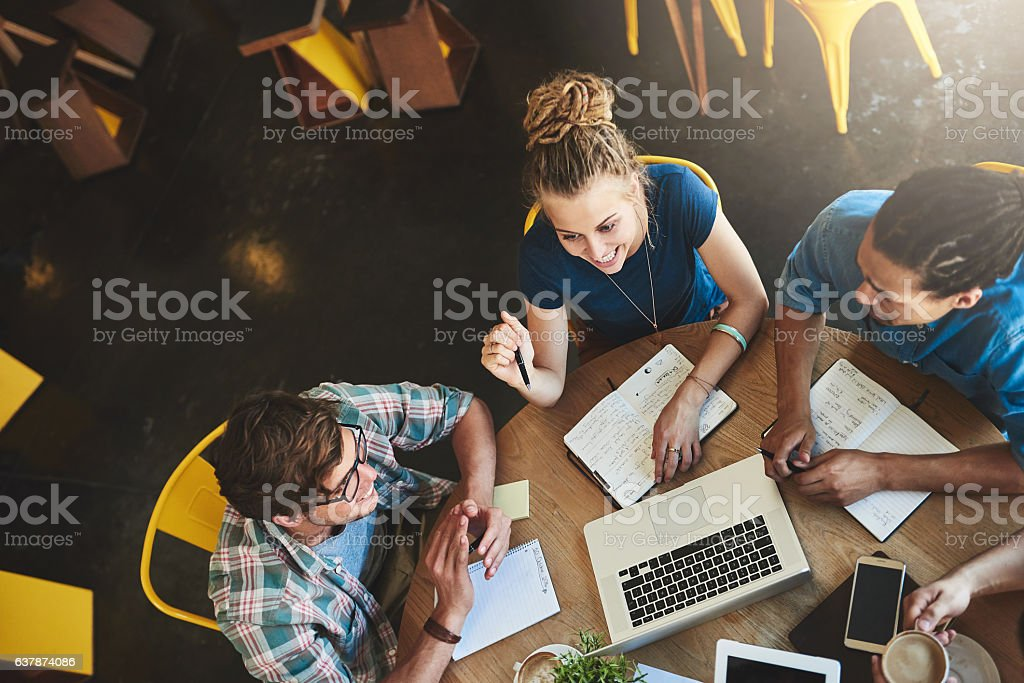 We have everything we need to pass stock photo