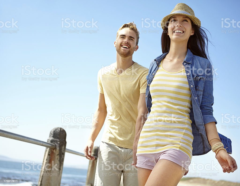 We have so much fun together! stock photo