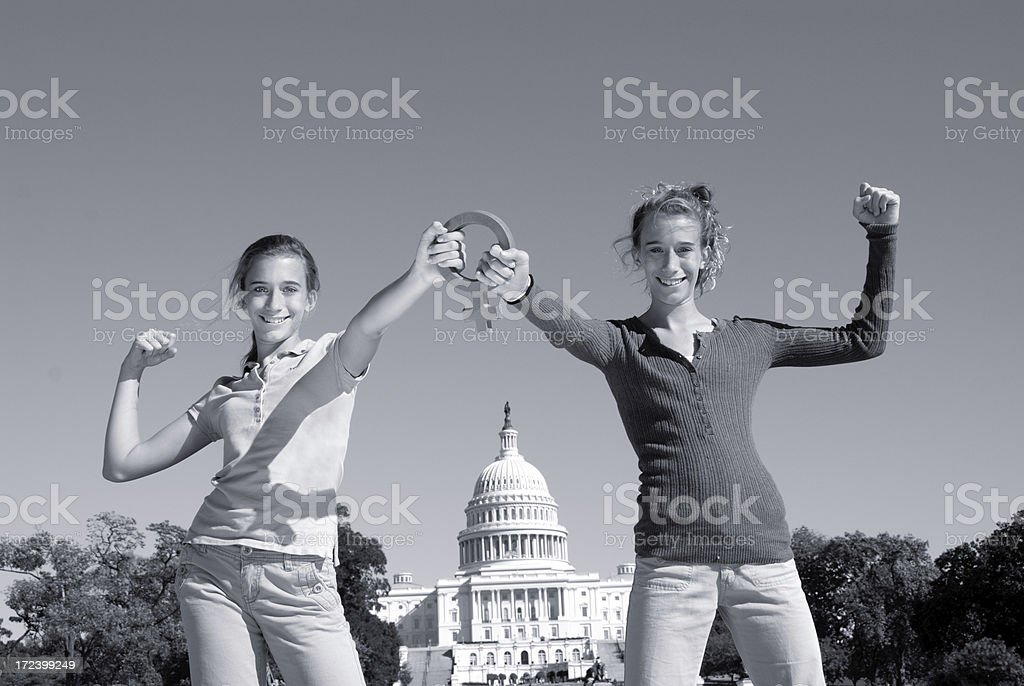 We Have the Power royalty-free stock photo