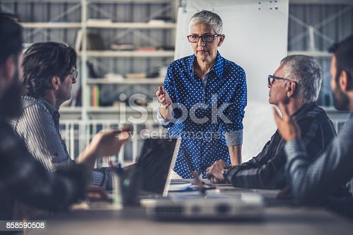 istock We have to be serious about our business plans! 858590508