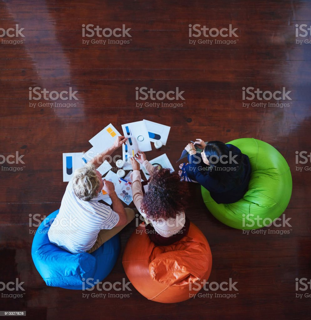 We have to come up with something convincing stock photo