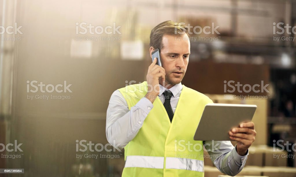 We have your order ready to be dispatched stock photo