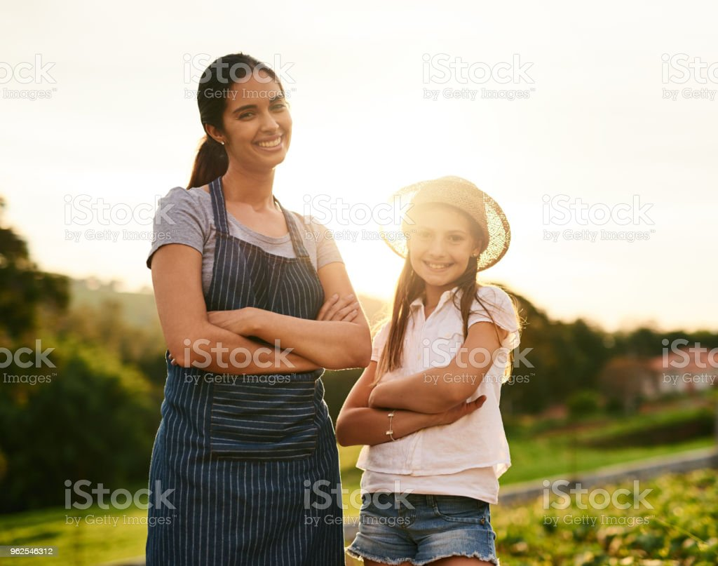 We know how to work a farm - Royalty-free Adult Stock Photo