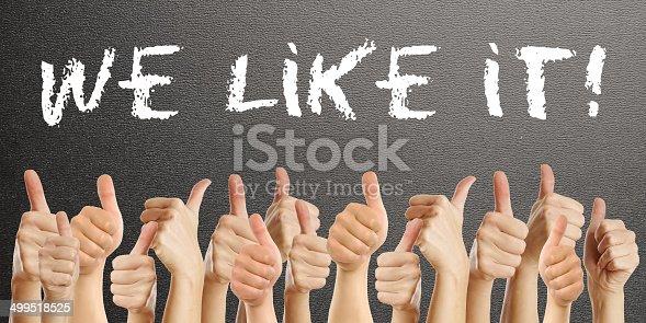 istock We like it 499518525