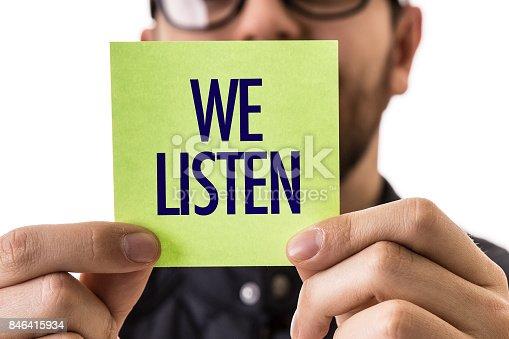 istock We Listen 846415934
