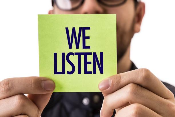 nous sommes à votre écoute - écouter photos et images de collection