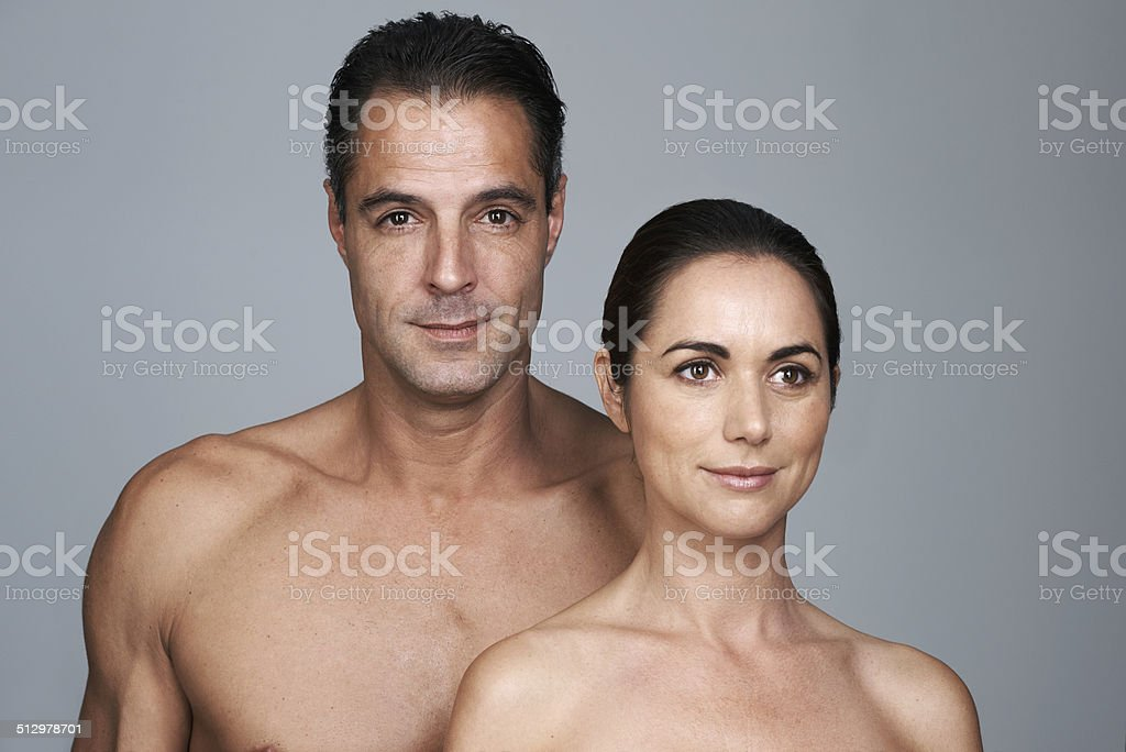We look good for our age stock photo