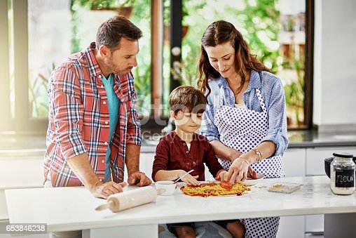 istock We love doing things as a family 653846238