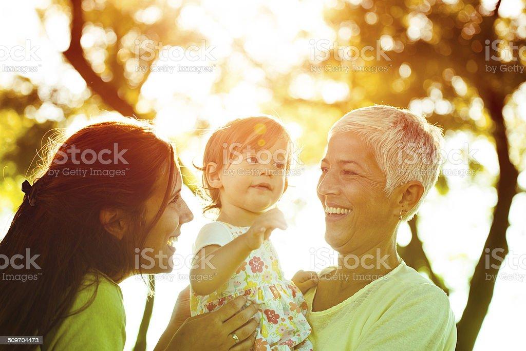 Nos encanta pasar tiempo juntos - foto de stock