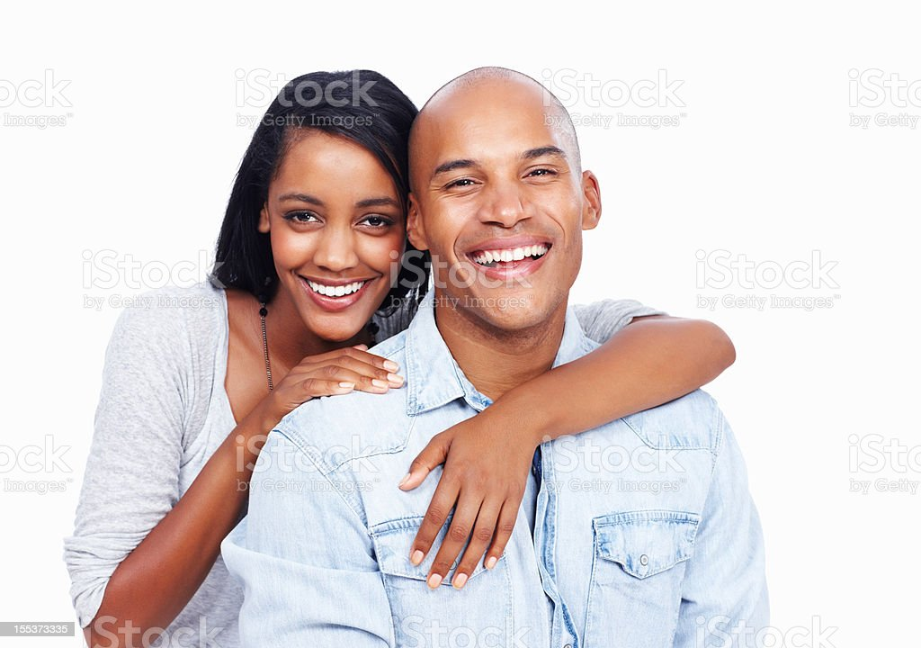 We love to laugh together royalty-free stock photo