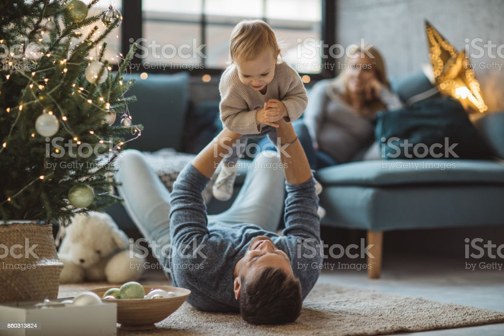 We love to play together stock photo