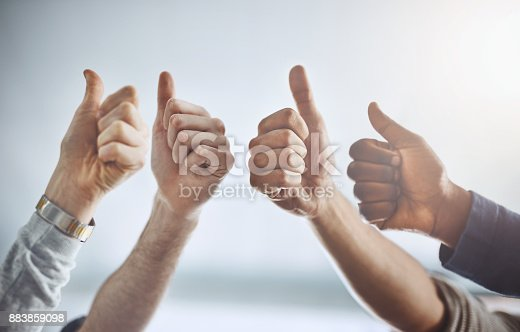 istock We love what you're doing! 883859098